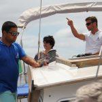 afleiding tegen zeeziekte op zeiljacht Gavião Madeira