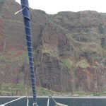Cabo Girão Madeira vanaf water