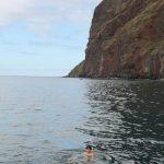 Zwemmen in Atlantische oceaan